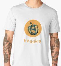 Veggies: Bell Pepper Men's Premium T-Shirt