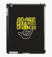 MMA BJJ Roll ON iPad Case/Skin