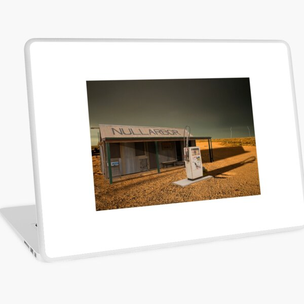 Storm Over Nullabor Road House Laptop Skin