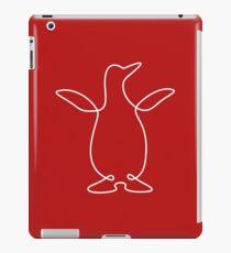 Penguin (scribble) iPad Case/Skin