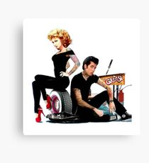 Grease Reloaded - Olivia Newton-John - John Travolta Canvas Print