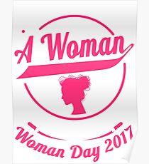 International woman day Poster