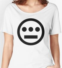 Hiero logo black Women's Relaxed Fit T-Shirt