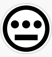 Hiero logo black Sticker