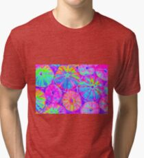 Psychedelic Urchins Tri-blend T-Shirt