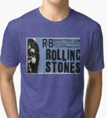 The ROLLING STONES - Ricky Tick club residency, 1963 Tri-blend T-Shirt