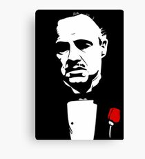 The Godfather Flower Canvas Print