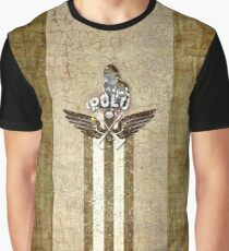 poloplayer golden_ocher Grafik T-Shirt