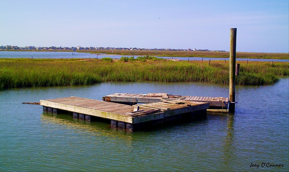 Old Dock In The Inlet by Joey O'Connor