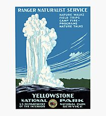 YELLOWSTONE NATIONAL PARK Photographic Print