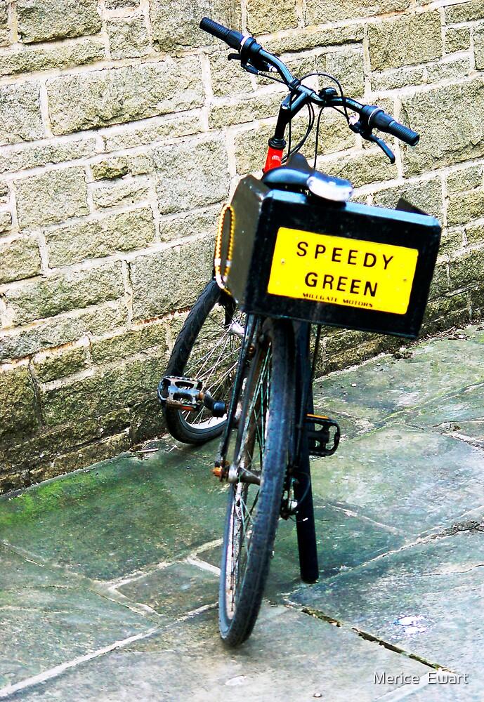 """""""Green Biker"""" by technochick"""