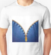 jeans background Unisex T-Shirt