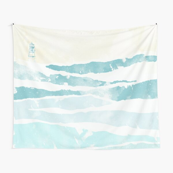 Sea Waves Tapestry