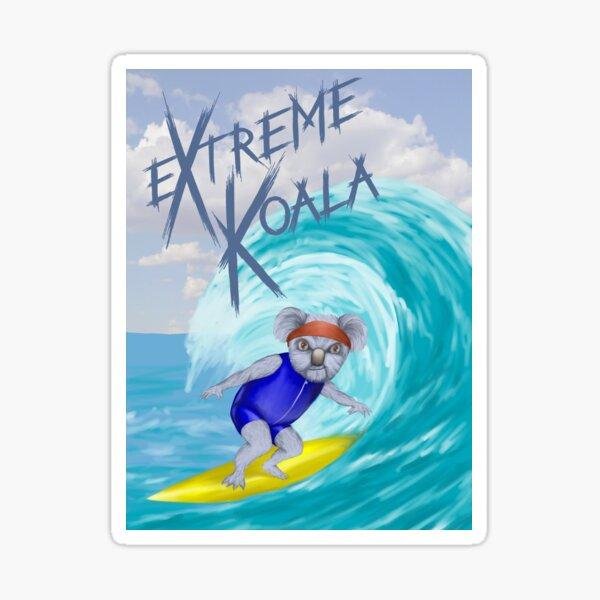 Extreme Koala - Surfer Sticker