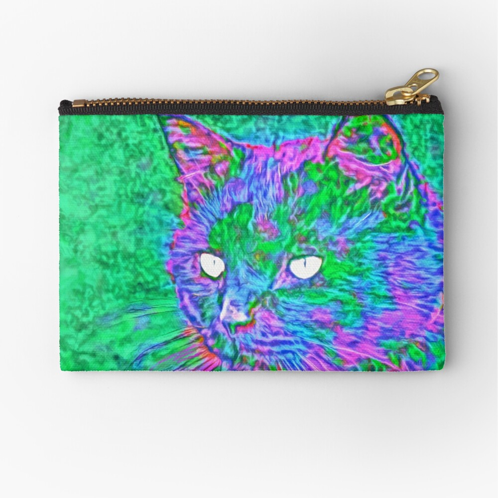 Ninja Cat, Predator Zipper Pouch
