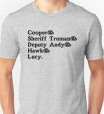 Twin Peaks Sheriff's Office  Unisex T-Shirt