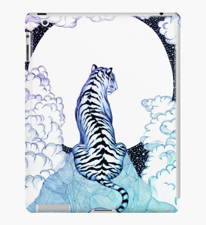 Ombre Tiger Moon iPad Case/Skin