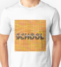 school sign Unisex T-Shirt
