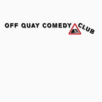 Off Quay Comedy Club Tee-shirt by storeman
