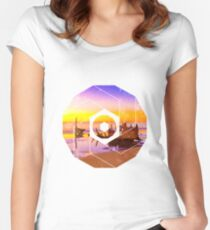 SS Dicky Rainbow Women's Fitted Scoop T-Shirt