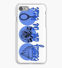 Beauty and the Beast (blue logo) iPhone Case/Skin