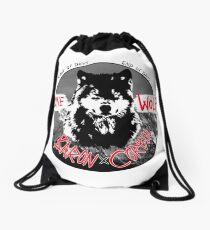 The Lone Wolf Drawstring Bag
