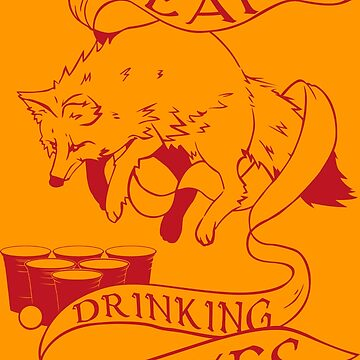 Drinking Foxes by Karl-der-Tolle