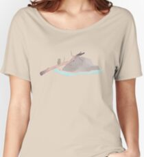 Raccoon of the creek Women's Relaxed Fit T-Shirt