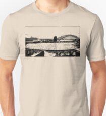 Sydney Harbour Bridge Silhouette  T-Shirt