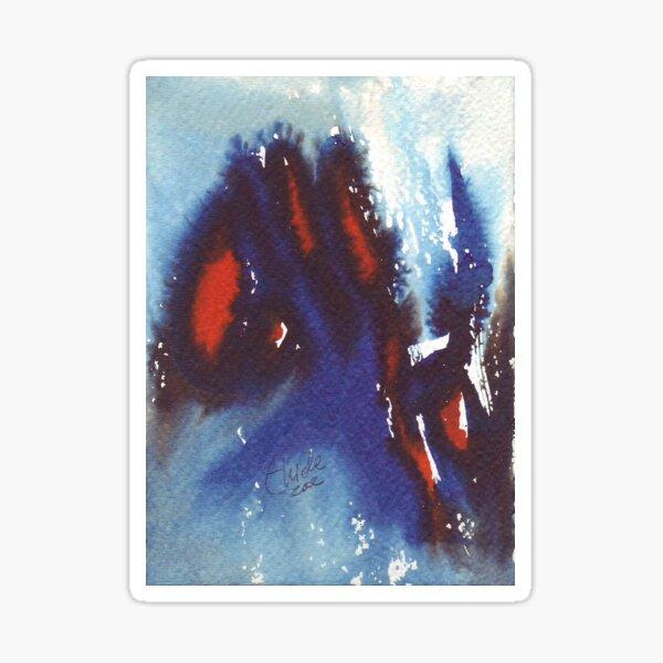 Cosimo. Watercolor Name. Sticker