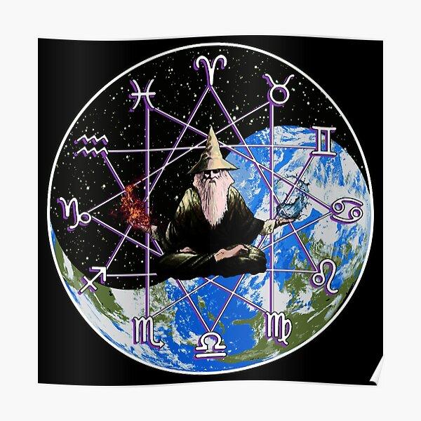 Zodiac Wizard  Poster