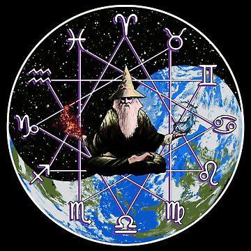 Zodiac Wizard  by SigilSorcery