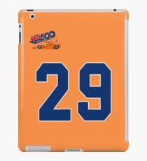 fernando alonso indy 500 29 iPad Case/Skin