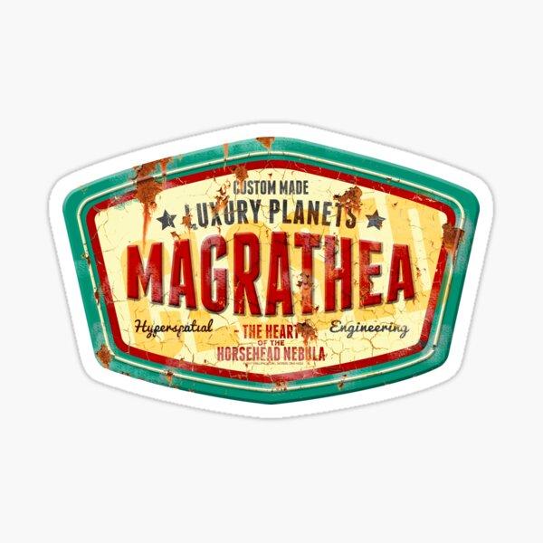 Magrathea - Custom Luxury Planets Sticker