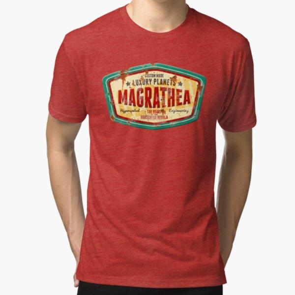 Magrathea - Custom Luxury Planets Tri-blend T-Shirt