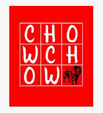Chow Chow Design  Photographic Print