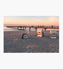 Prerow sunset Photographic Print