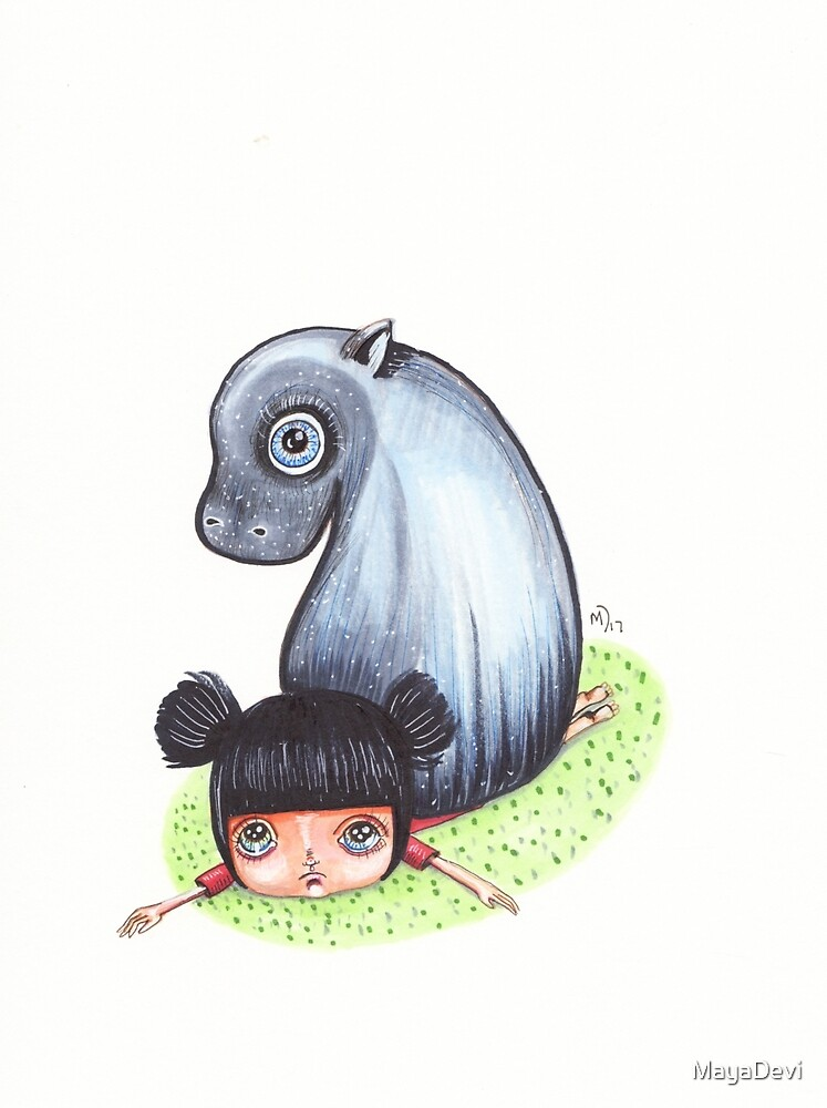 At least you didn't get squished by a hippo by MayaDevi
