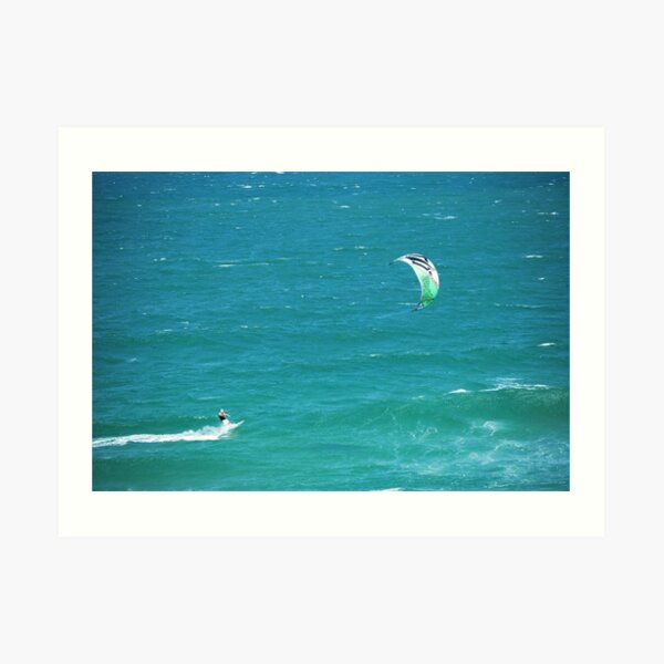 Wind surfing - South East Queensland Art Print