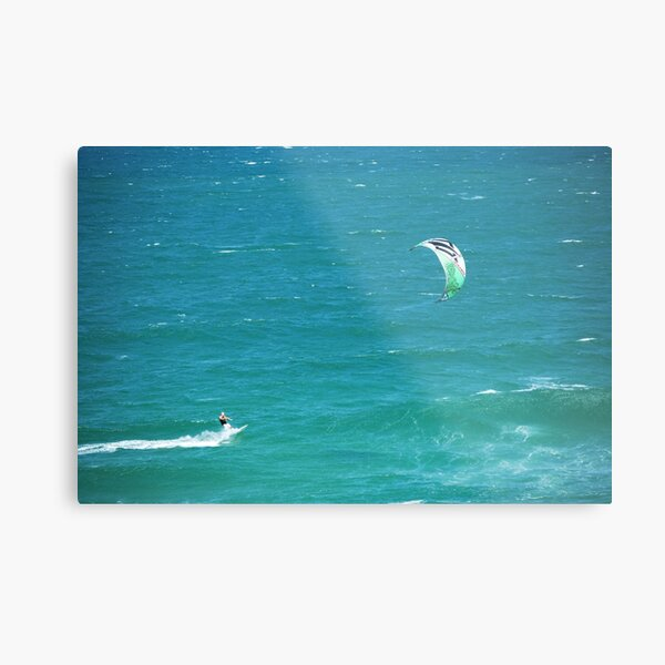 Wind surfing - South East Queensland Metal Print