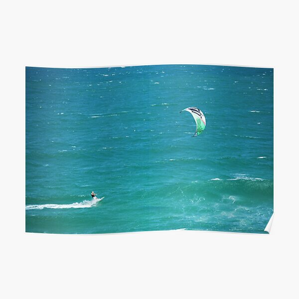Wind surfing - South East Queensland Poster