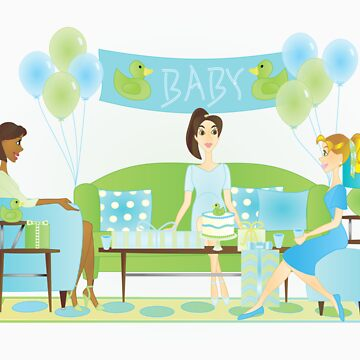 The Baby Shower by trennea