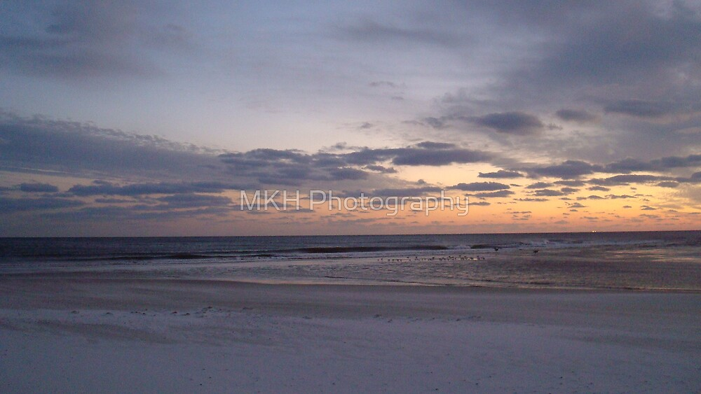Looking out over the Gulf by MKH Photography