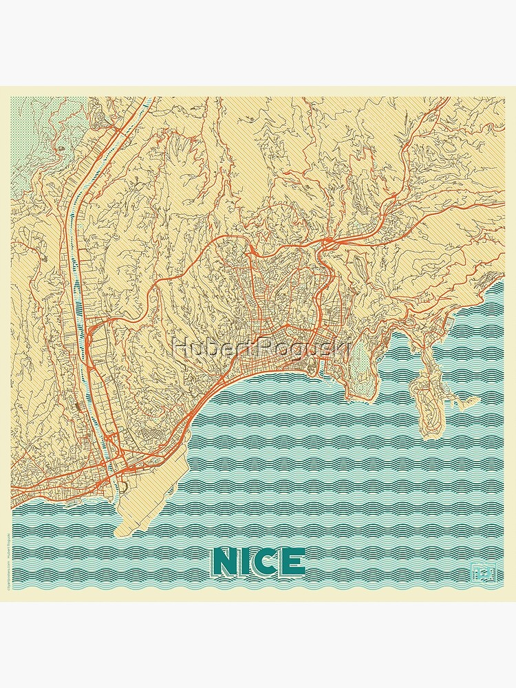 Nice Map Retro by HubertRoguski
