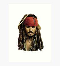 Captain Jack Sparrow Kunstdruck