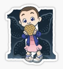 Eggo Fan Sticker