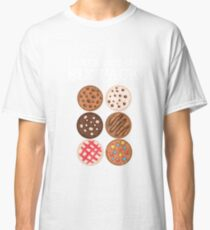 Check Out My Six Pack Funny Cookie Lover Abs Joke Classic T-Shirt