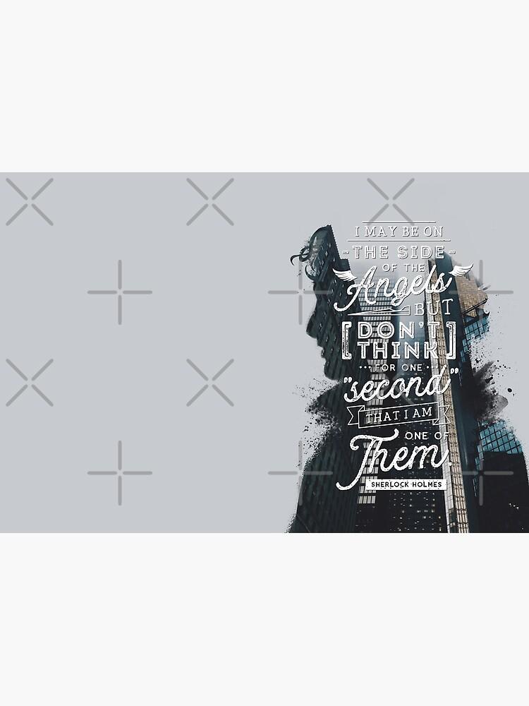 Sherlock - Angels by stellaarts