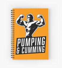 Cuaderno de espiral Arnold Schwarzenegger - Bombeo y Cumming