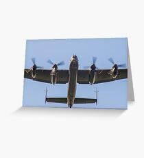 Lancaster Bomber Take Off Greeting Card